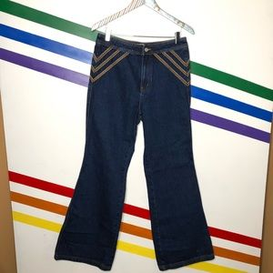 NEW We the Free flare jeans